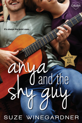 Giveaway & Blitz: Anya and the Shy Guy by Suze Winegardner